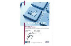 BDO-certificering voor MUIS Software