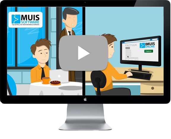 Je financiële administratie in iMUIS Online Boekhouden altijd actueel!