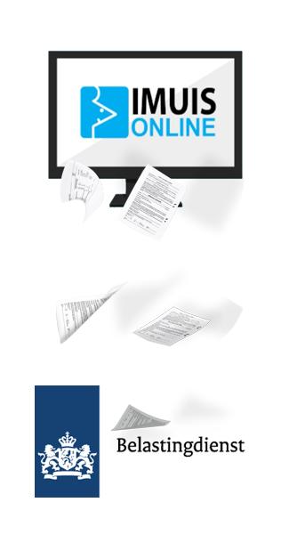 Met iMUIS Online kun je eenvoudig de aangifte elektronisch via SBR naar de Belastingdienst versturen en de SBR-kredietrapportage indienen bij banken.