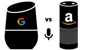 Google Alexa battle talk