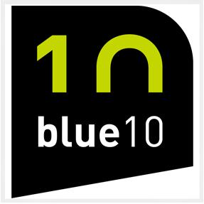 Logo Blue10