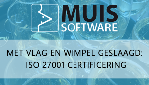 MUIS Software ISO 27001 certificering