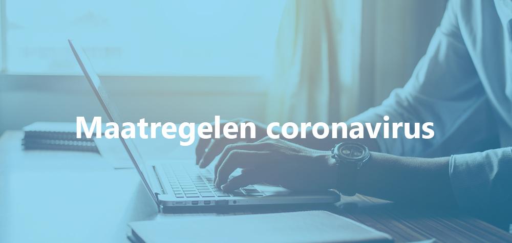 Maatregelen coronavirus