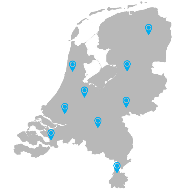 MUIS on Tour locaties