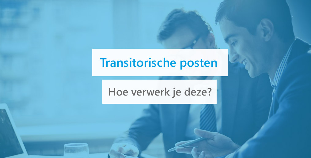 transitorische posten