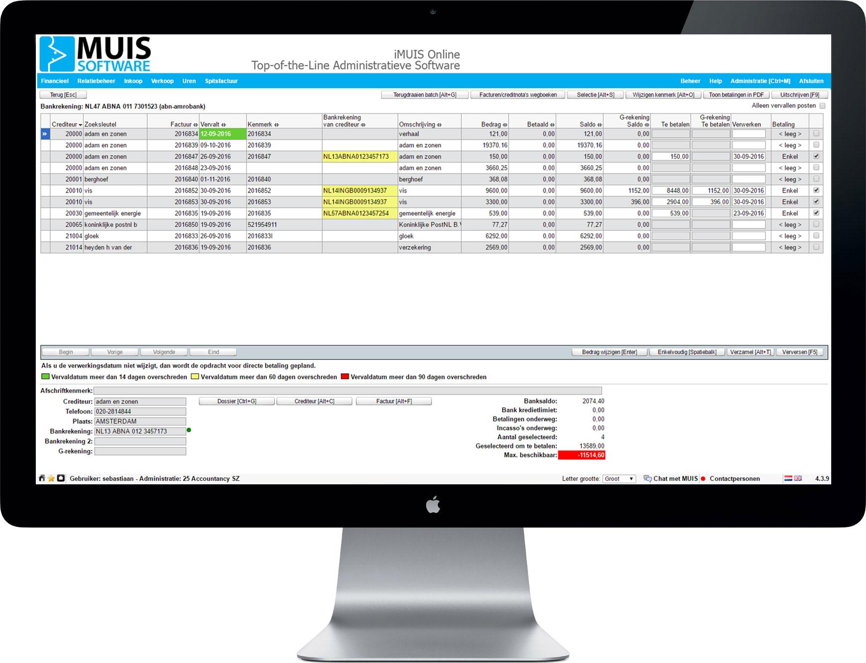 De module G-Rekening vereenvoudigt het administratieve proces rond het inlenen van personeel.
