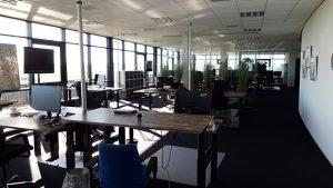 Thuismuizen op kantoor